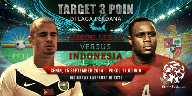 Timor Leste U23 vs Indonesia U23 2014