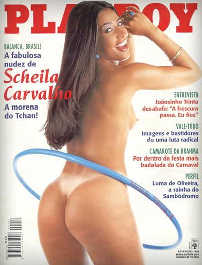 Scheila Carvalho pelada