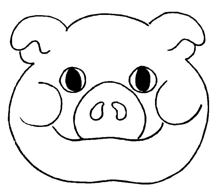 Máscaras de Animais para Imprimir