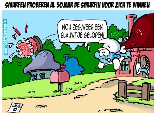 S O S Cartoon Smurfen