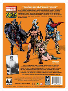 "Figures Toy Company 8"" Robert E Howard Retro (Mego-Style) Conan Card - Back"