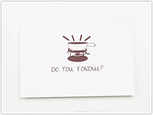 Do You Fondue Card by Paper & Party Love