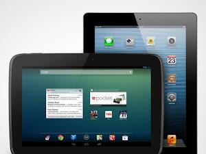 perbedaan ipad 4 dnegan nexus 10 tabletm bagusan mana tablet androdi atau ipad terbaru?, adu ipad vs android tablet