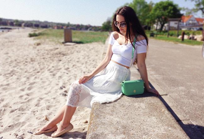 aimerose white outfit uk fashion blog