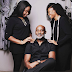 RMD Poses With His Beautiful Daughters