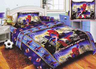 Sprei Belize Spiderman