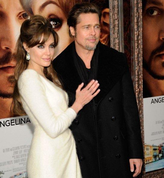 Brad Pitt Wife Angelina Jolie