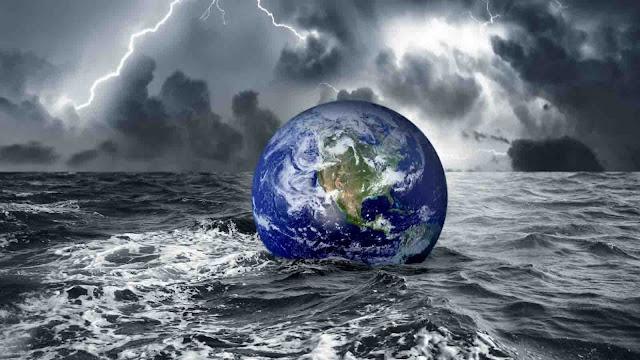 Digital Design Idea Global Warming Effect