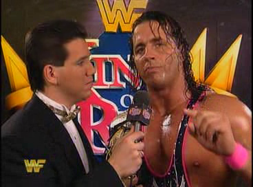 WWF / WWE - King of the Ring 1994: Todd Pettengill interviews WWF Champion Bret 'The Hitman' Hart