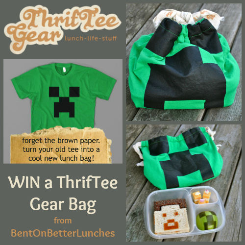 Win a ThrifTee Gear bag from BentOnBetterLunches!