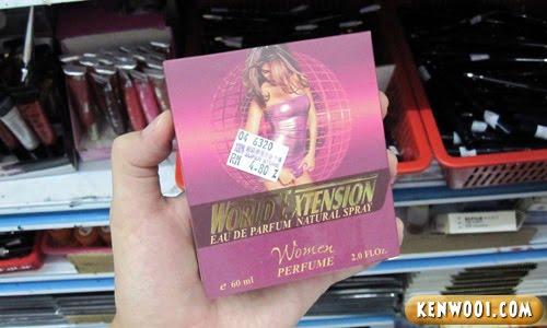 pink woman perfume