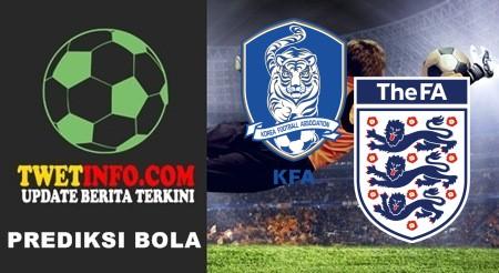 Prediksi Korea Republic U17 vs England U17