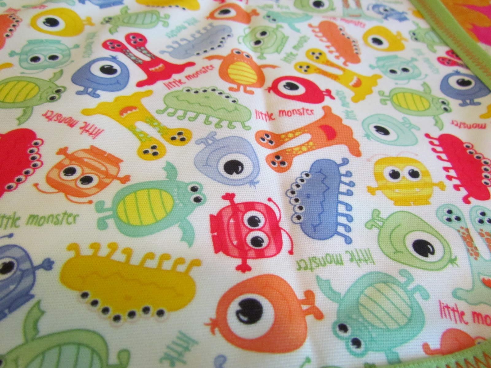 Owl things first are you a monster freebie for Baby monster fabric