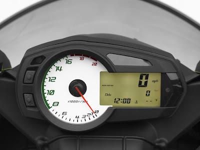 2012 Kawasaki Ninja ZX-6R Dashboard Picture