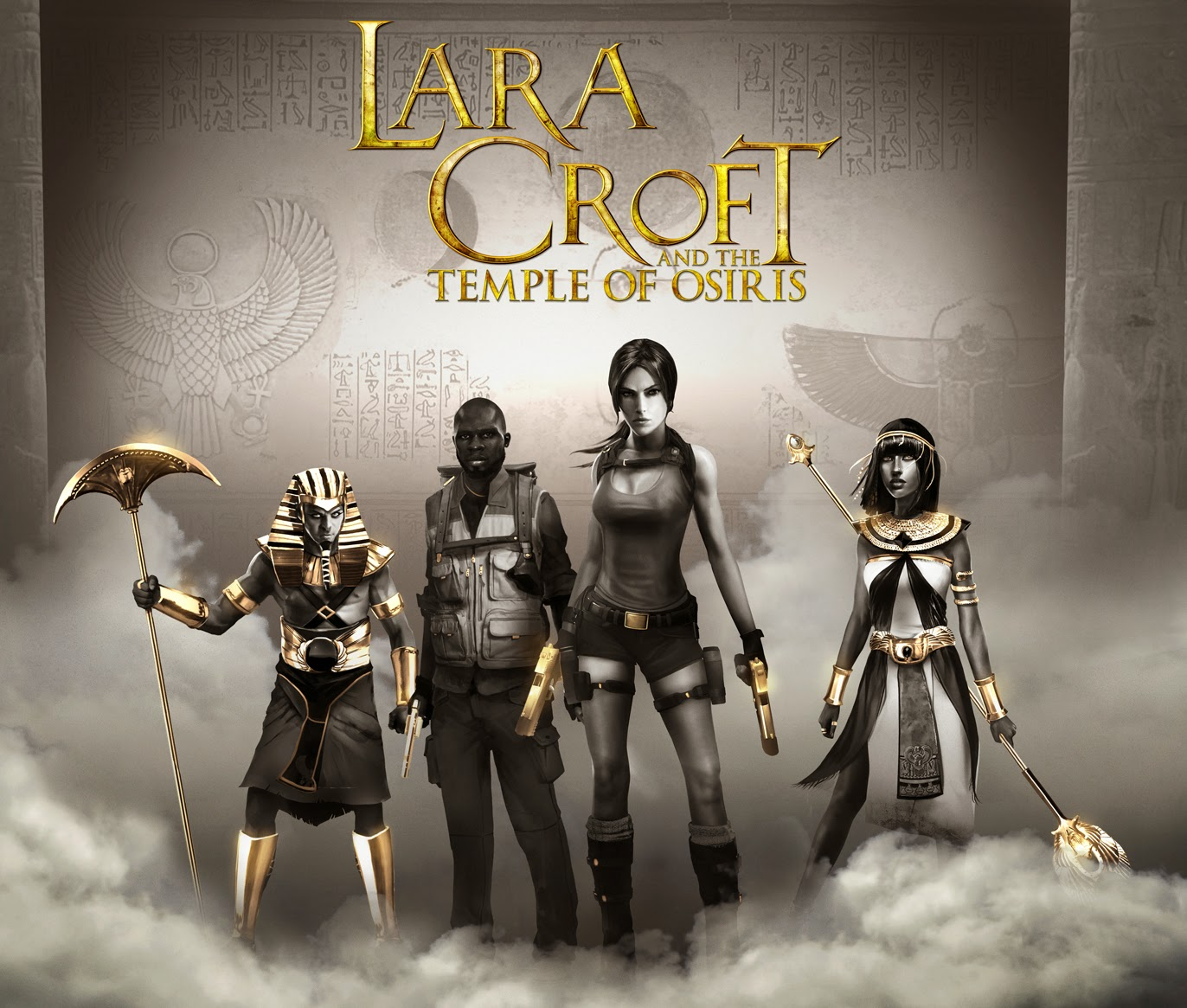 Tomb Raider Definitive Edition For Xbox One And Ps4 4k Hd: MaxRaider: New Lara Croft And The Temple Of Osiris Key Art