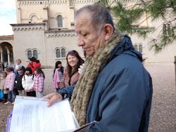 """VISITA DE LOS NIÑOS Y PADRES DE FAMILIA DE LA CATEQUESIS DE LA IGLESIA """"SANTA MARIA DE MONTCADA"""""""