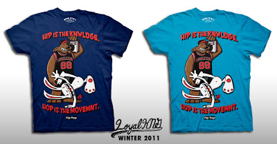"Loyal K.N.G. Winter 2011 T-Shirt Collection - ""Hip-Hop Movement"" T-Shirt"