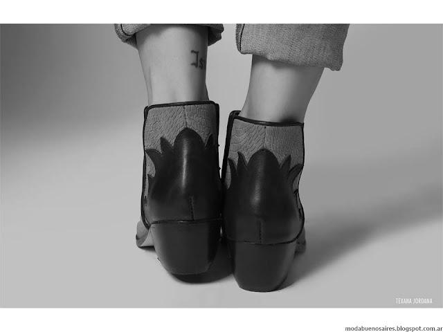 La Cofradía otoño invierno 2016 botas y botinetas. Moda invierno 2016.