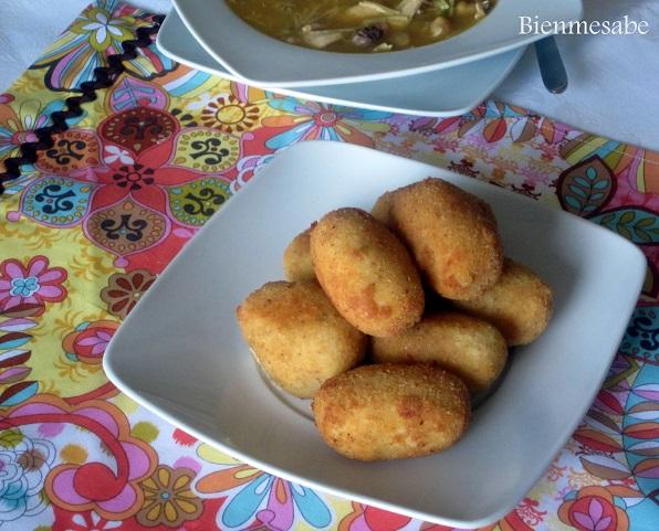 croquetas pollo caseras