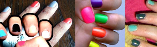 I Remember In The 90 S When Was About 10 It Mainstream To Paint Each Nail A Diffe Color Heard Are Making Comeback