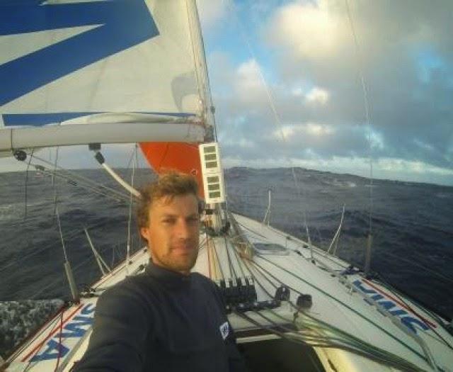 Paul Meilhat, SMA sur la Lorient Horta Solo
