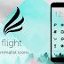 Flight - Dark Flat Icons v2.0.2 Apk