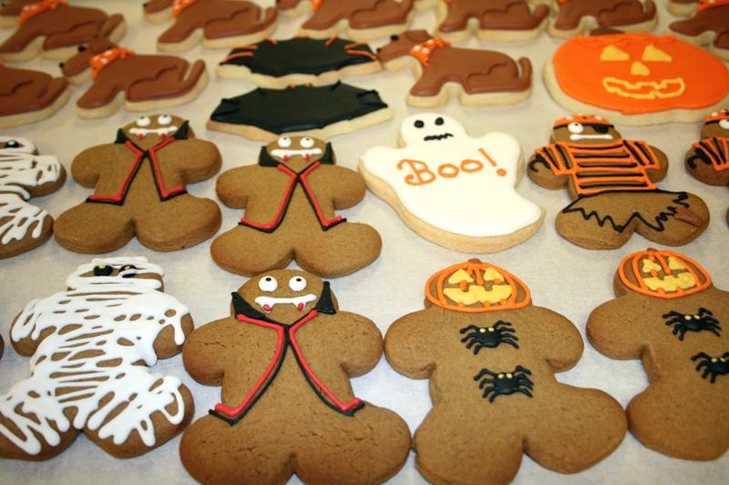 halloween gingerbread sugar cookies - Halloween Gingerbread Cookies