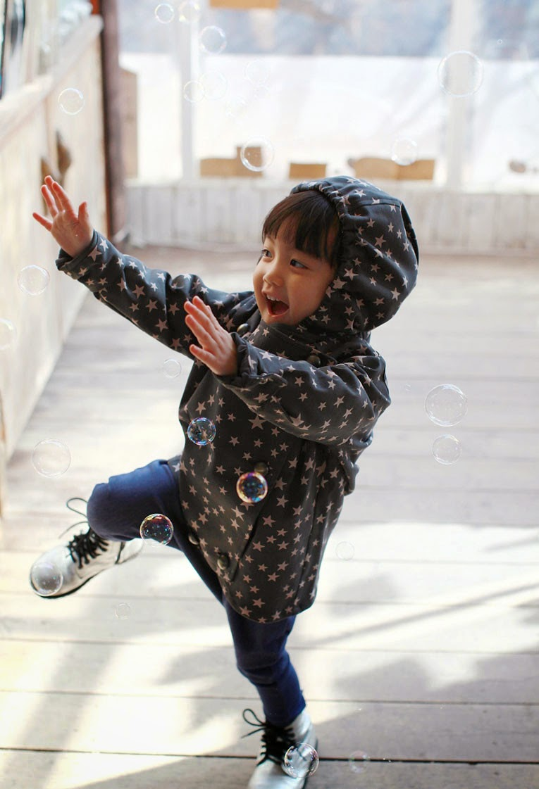 Super cute star jacket by Color Me WHIMSY - Asian Kids Fashion