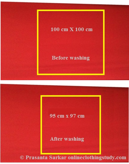 How to Calculate Fabric Shrinkage Percentage in Garment and ...