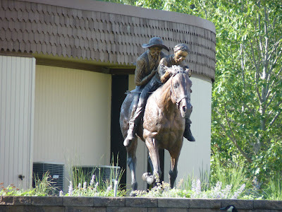 Martin brothers statue