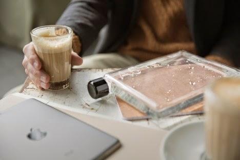 Memo Botol Berbentuk Ramping untuk Tas Laptop