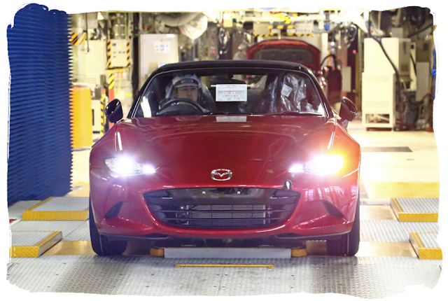 New MX-5 Production Begins