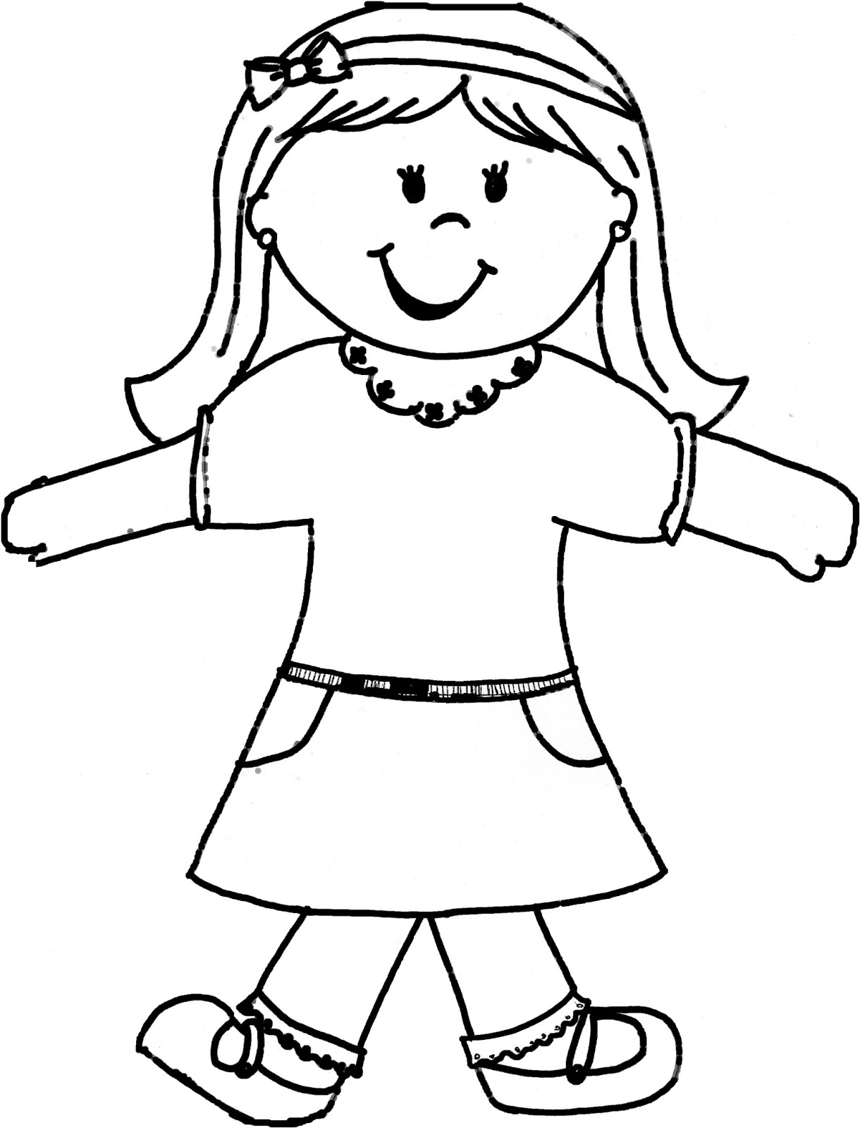 Blog Not Found Flat Stanley Coloring Page