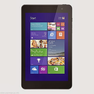 Dell Venue 8 user guide manual