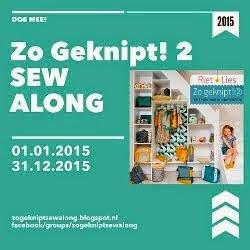 Zo Geknipt! Sew Along 2015