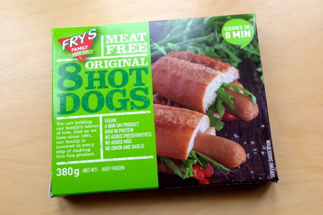 Fry's Original Meat Free Hot Dogs