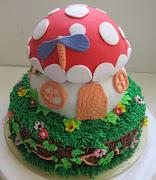 Smuff mushroom cake