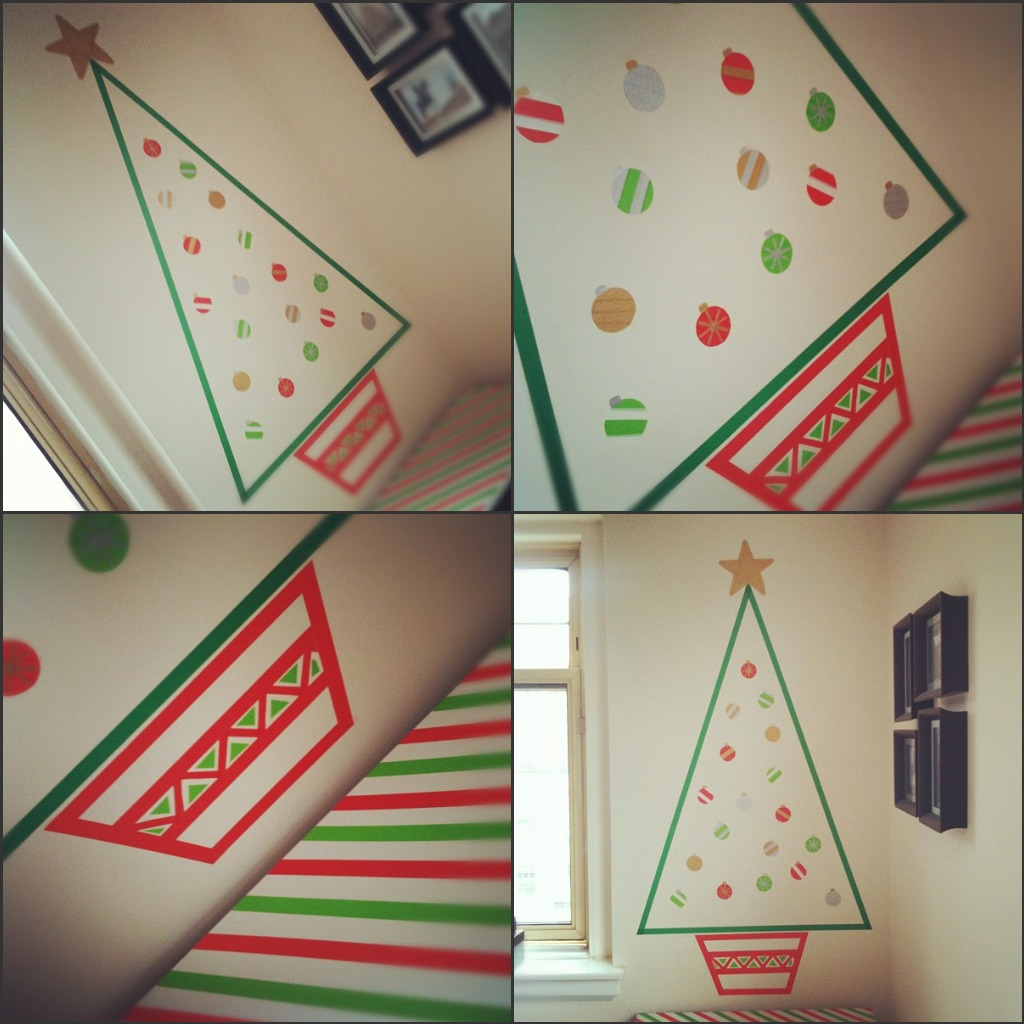 Omiyage Blogs: Washi Tape Christmas Tree