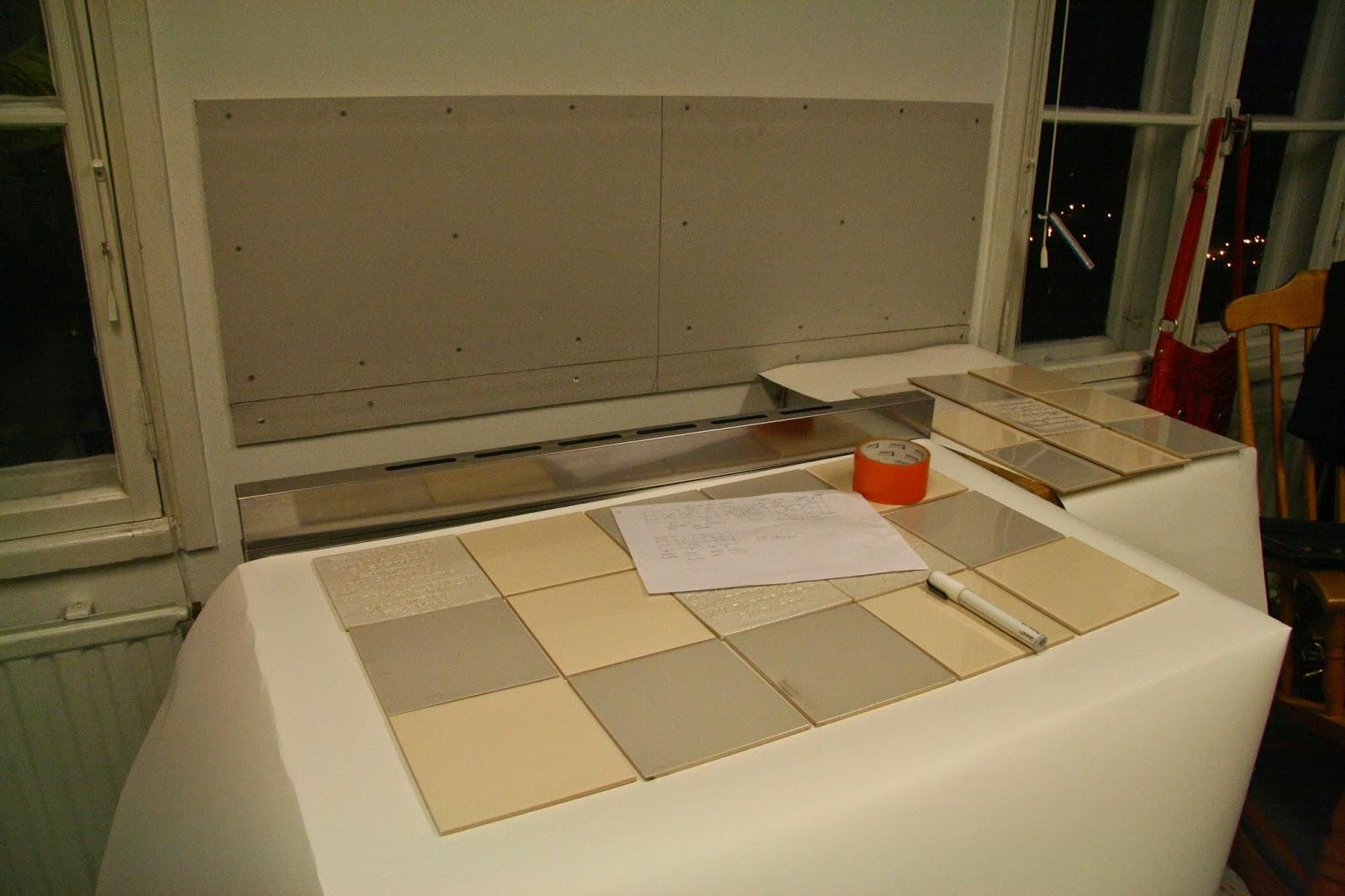 keittiön välitilan laatoitus!  oma koti kultainen