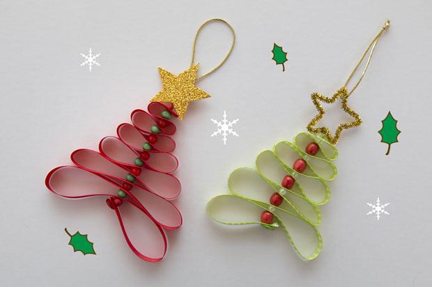 adornos navidad cintas