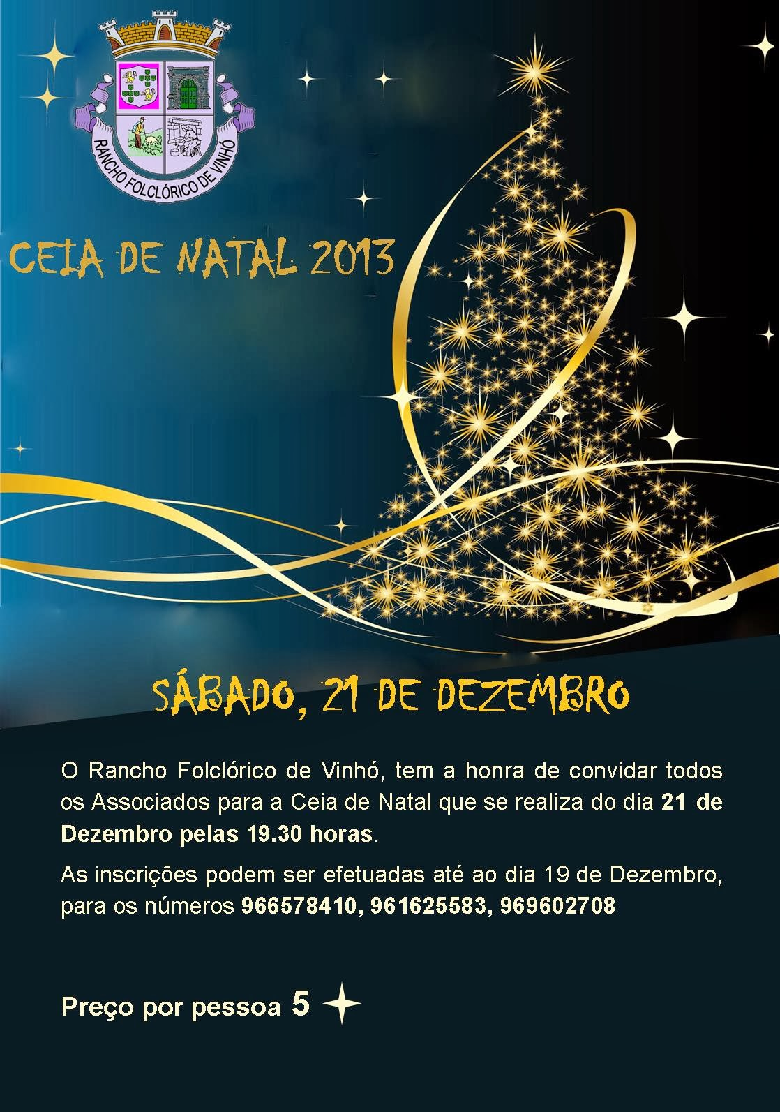 Ceia natal 2013