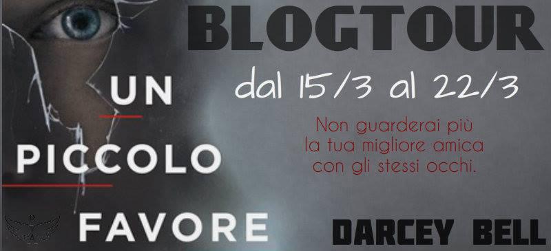 BlogTour:  I Tappa UN PICCOLO FAVORE di DARCEY BELL