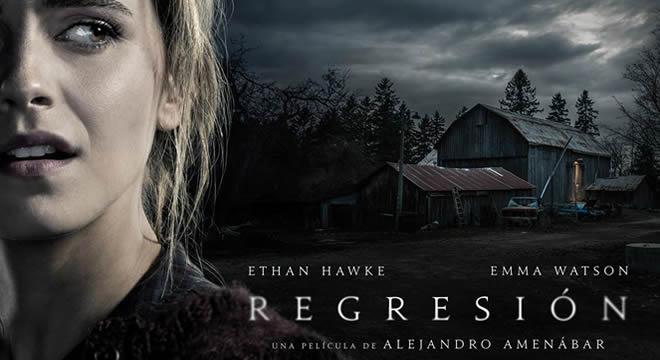 'Regresión' Cartel promocional