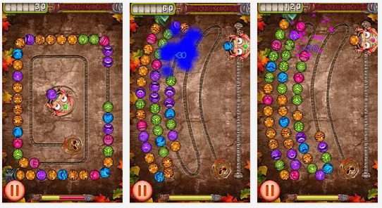 Zuma Deluxe Temple Android Game Free Download