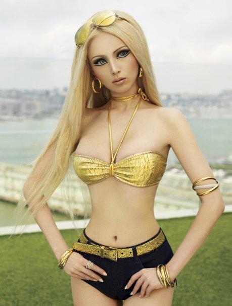 Валерия Лукьянова Valeria Lukyanova Barbie