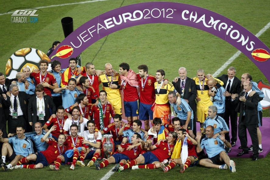 España, campeona de la Eurocopa