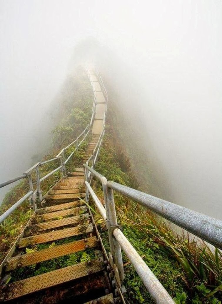 Haiku Stairs,Oahu, Hawaii