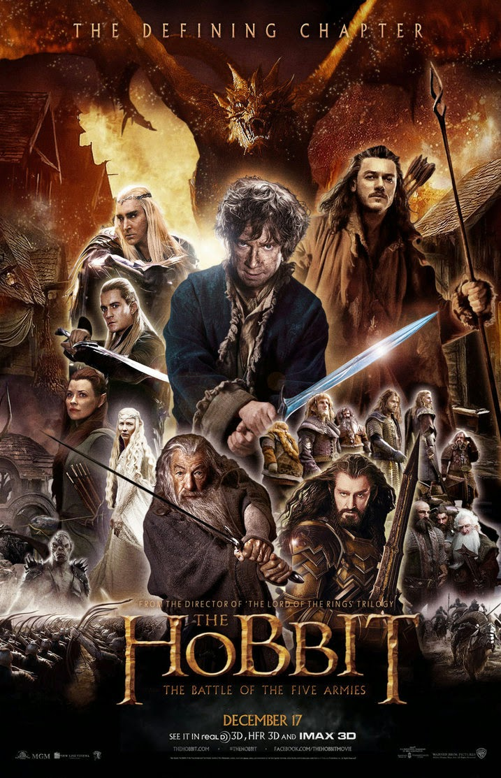 Film The Hobbit: The Battle of the Five Armies 2014 Bioskop