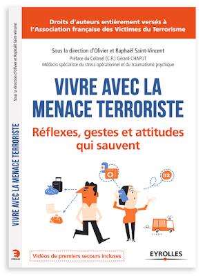 Clod illustration couverture livre Vivre avec la menace terroriste, Éditions Eyrolles