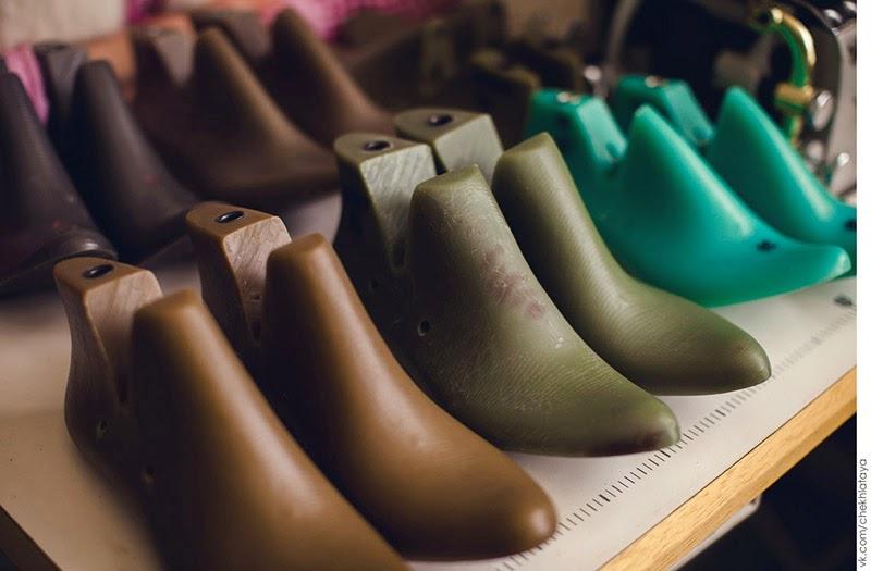 Колодки для обуви в мастерской Ирины Степовой